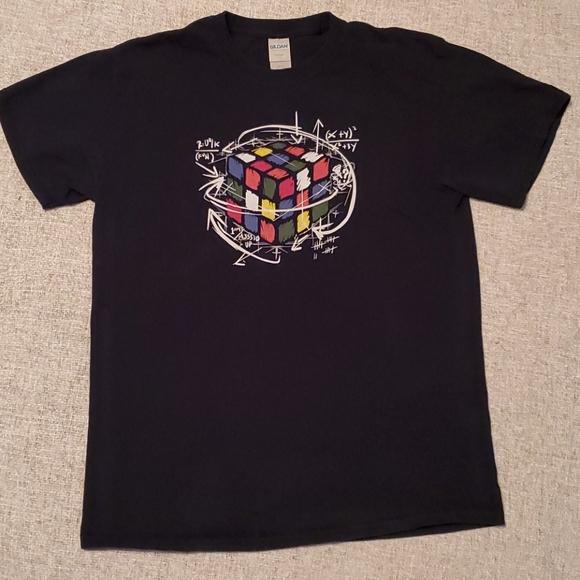 Gildan Other - Rubix Cube Men's Medium M short sleeve geek Math